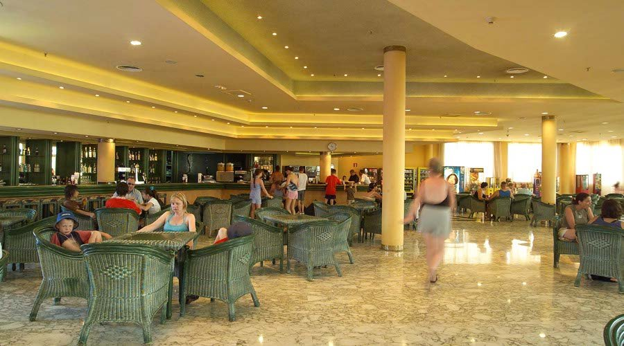 Bar flamingo hotel benidorm