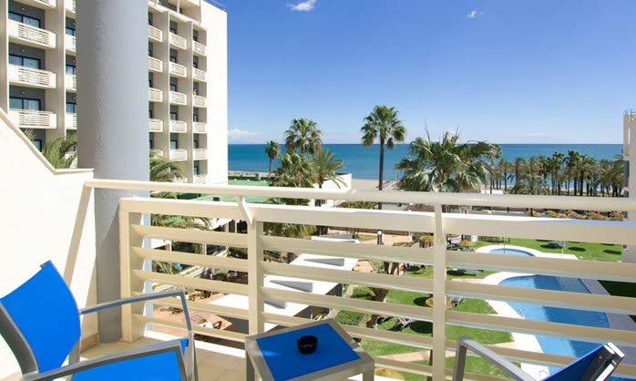 Beachfront club hotel torremolinos